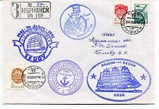URSS CCCP Exploration Mission Base Ship Polar Antarctic Cover Murmansk Sedov