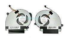 New Toshiba Satellite S55T-B series CPU Cooling Fans L + R FABLN00EUA FABLN01EUA