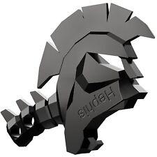 Hephis Keychain Skull Key Ring With Bottle Opener Car Key Chain (Black) Gift