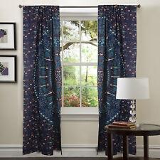 Indian Hippie Mandala Window Curtain Wall Cotton Drape Panel Valance Curtains