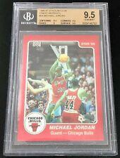 MICHAEL JORDAN 96-97 Topps Stadium Club FINEST REPRINTS '85 STAR ! BGS 9.5 GEM !