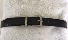 Nautica Kids Belt, Boys Leather Dress Belt Size 22 Color Black