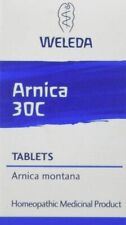 Weleda Arnica 30C Tablets bumps bruises sprains muscular pain physical shock