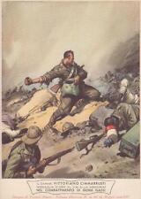 A7887) WW ETIOPIA, CARABINIERE M. O. CIMMARRUSTI DA CANNETO DI BARI. ILL PISANI.