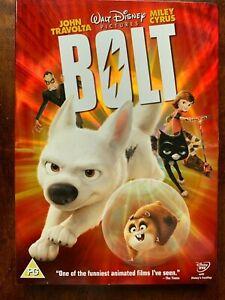 Perno DVD 2008 Walt Disney Animación Clásico Película de Cine Con / Funda