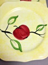 Blue Ridge Pottery Apple Jack Southern Pottery Square Sandwich Salad Plate