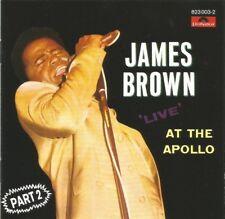 James Brown - Live At The Apollo, Part 2 original West German pressed CD album