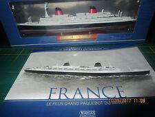 Paquebots du monde N° 1 LE FRANCE 1/2500 ATLAS neuf+fascicule