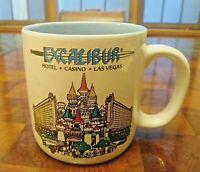 "Excalibur Hotel Casino Las Vegas Coffee Mug Cup Souvenir 3.5"" Tall"