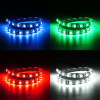 Flexible 50cm DC 12V 4 Colors 5050 SMD LED Strip Light Tape Tube Lamp Indoor New