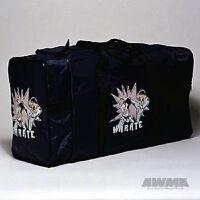 Karate Tournament Equipment Bag Martial Arts Training Gear Gym Duffle Bag - Blue