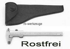 70 mm Mini Schieblehre Messschieber INOX Uhrmacher Zahntechnik mit 0,05mm Nonius