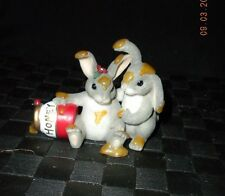 "Charming Tails ""Honey Bunnies"" Figurine #84/112"