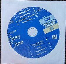 PATSY CLINE COUNTRY KARAOKE CDGM CD+G MULTIPLEX 8+8 - SDK9000 CD MUSIC