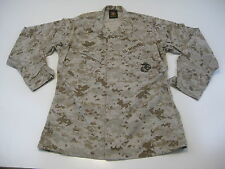 USMC US MARINE Desert Marpat Blouse Shirt Top MCCUU Camo M Medium Long EUC