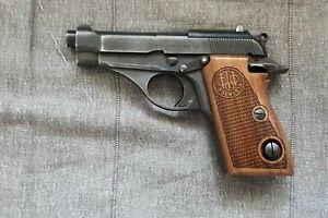 Beretta Mod 70 Puma Walnut Wood Grips Perfect  checkered