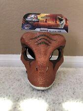 Jurassic World Velociraptor Orange Mask Legacy Dinosaur Tiger