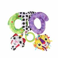 1pc Kid Toy Adorable Colorful Lion Animal Hanging Rattle for Infant Toddler Baby