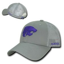 Kansas K State University KSU Wildcats NCAA Mesh Trucker Baseball Ball Hat Cap