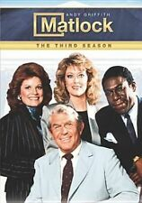 Matlock Season 3 DVD The Complete Third Series Three Andy Griffith