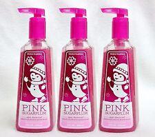 3 Bath & Body Works PINK SUGARPLUM Deep Cleansing Antibacterial Soap