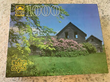 GOLDEN GUILD 1000 PIECE PUZZLE CABIN IN THE COUNTRY