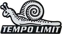 Auto 3D Relief Schild Schnecke TEMPO LIMIT Emblem Aufkleber HR Art. 4828