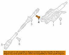 ( 1 ) GENUINE GM 11609743 BOLT - Steering Gear Shaft