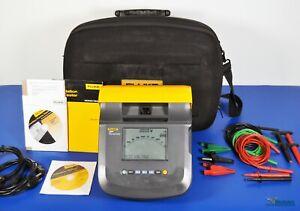 Fluke 1550C 5kV Insulation Tester MegOhmMeter - NIST Calibrated