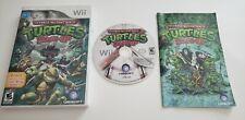 Teenage Mutant Ninja Turtles Smash Up Wii COMPLETE VIDEO GAME