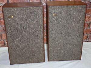 Pair Of Vintage KEF Model K2 Celeste MKII Heavy Weight Bookshelf Loudspeakers