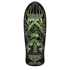 "SMA Skateboard Deck Old School Natas Panther 3 Glow in the Dark 10.5"" x 30"""