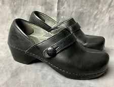 Dansko Womens Black Clogs Comfort Shoes sz 36 or a US size 5.5-6