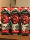 """Budweiser Limited-Edition Notorious B.I.G. Cans - (3 Pack - NYC only) EMPTY CAN"""""""