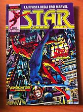 STAR MAGAZINE nr 5 STAR COMICS 1991 MARVEL DEVIL VENDICATORI STARBRAND