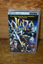 BRAND New & Sealed Ninja Scroll RARE MANGA Anime UMD Video for Sony PSP