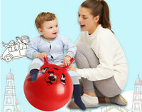 Inflatable Bouncing Ball Sport Toy Cartoon Animal Educational Ball for Baby JR
