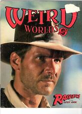 WoW! Weird Worlds #8 Raiders Of The Lost Ark! Dragonslayer! Classic Comic Covers