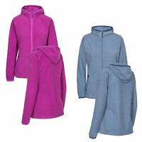 Trespass Jennings Womens Fleece Jacket Hiking Camping Full Zip Hoodie