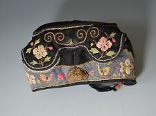 A GOOD ANTIQUE CHINESE EMBROIDERED HEAD PIECE HEADBAND  中国古董