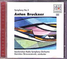 Stanislaw SKROWACZEWSKI: BRUCKNER Sinfonie Nr.5 Saabrücken Radio Symphony CD