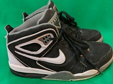 43e0f44d Nike Air Flight Falcon 397204-012 Black White Basketball Shoes Men's Size 10