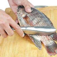 Fischschuppen Hautentferner Scaler Schneller Reiniger Home Kitchen Clean Li O6E8
