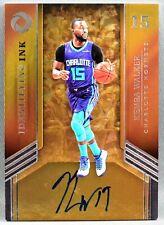 17-18 Panini Opulence Kemba Walker ON CARD NBA AUTO #15/25 2017 2018 HORNETS