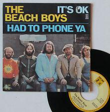 "Vinyle 45T The Beach Boys  ""It's ok"""