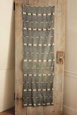 Antique Ikat fabric French flamme 18th century indigo fabric  scarf ? Primitive