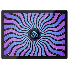 Quickmat Plastic Placemat A3 - Purple Om Ohm Hindu Symbol  #14509