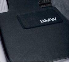 4 BMW OEM Black Floor Mats E46 Convert 323 325 330 2701