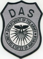 UNITED STATES DEPARTMENT OF THE ARMY WASHINGTON DC MILITARY DAS police PATCH