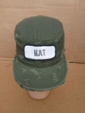 Military Combat Cap Hat SIZE  6 1/4 X-SMALL  Field Unisex Ultra Force Distressed